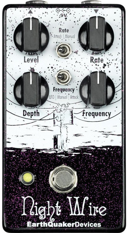 Earthquaker Devices Night Wire Wide Range Harmonic Tremolo
