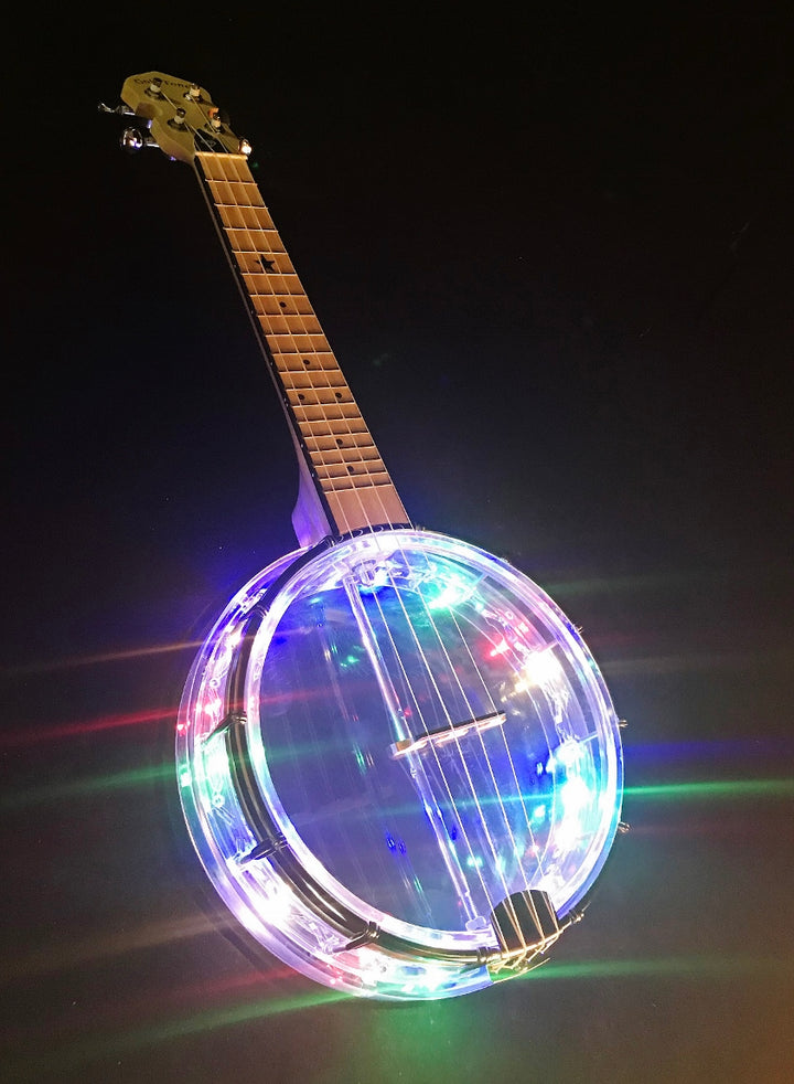 Gold Tone Lightup Little Gem Concert Banjolele - Diamond
