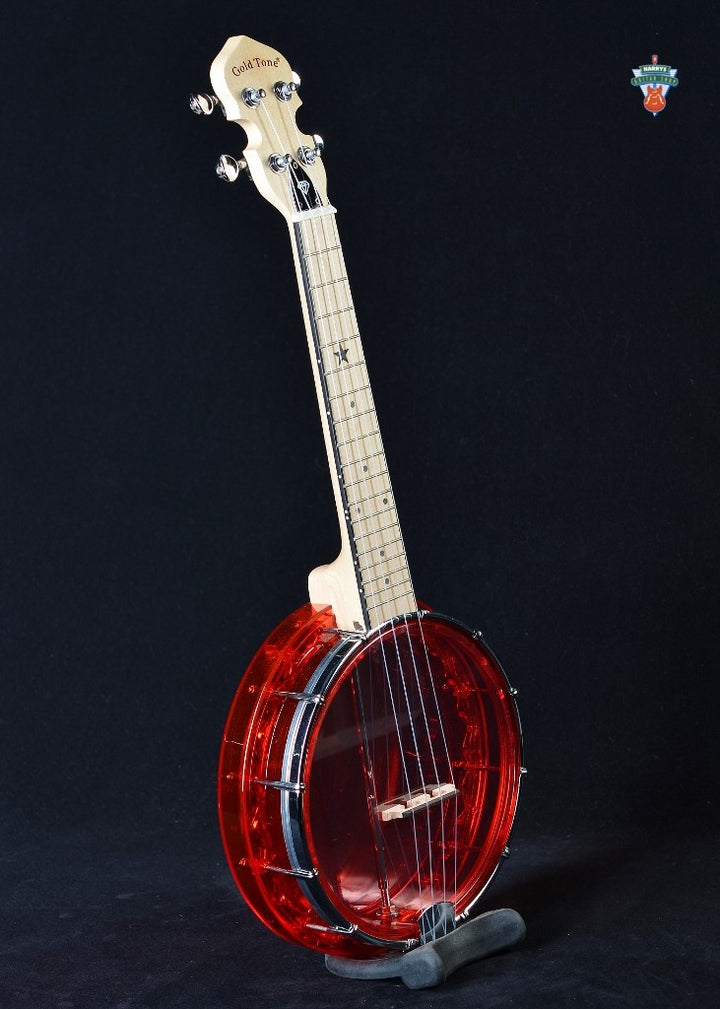 Gold Tone Little Gem Concert Banjo Uke - Ruby