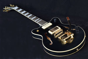 Gretsch G2655TG-P90 Limited Edition Streamliner Center Block Jr. with Bigsby - Matte Black