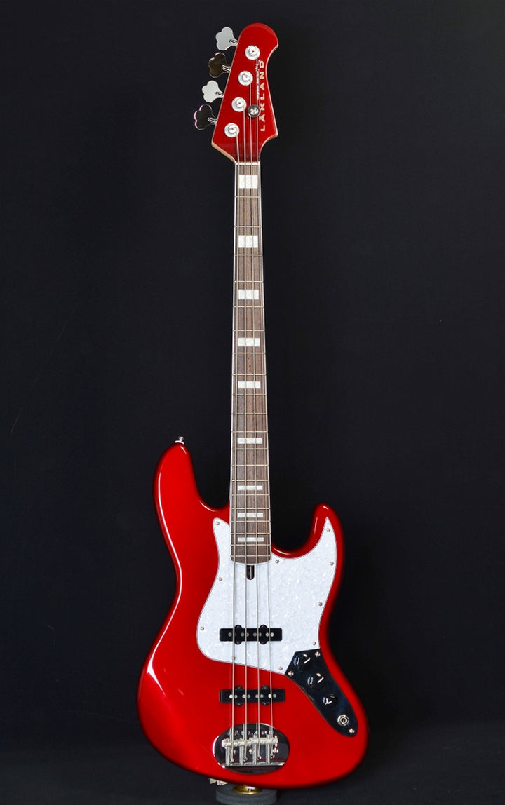 Lakland Skyline 44-60 Custom - Candy Apple Red