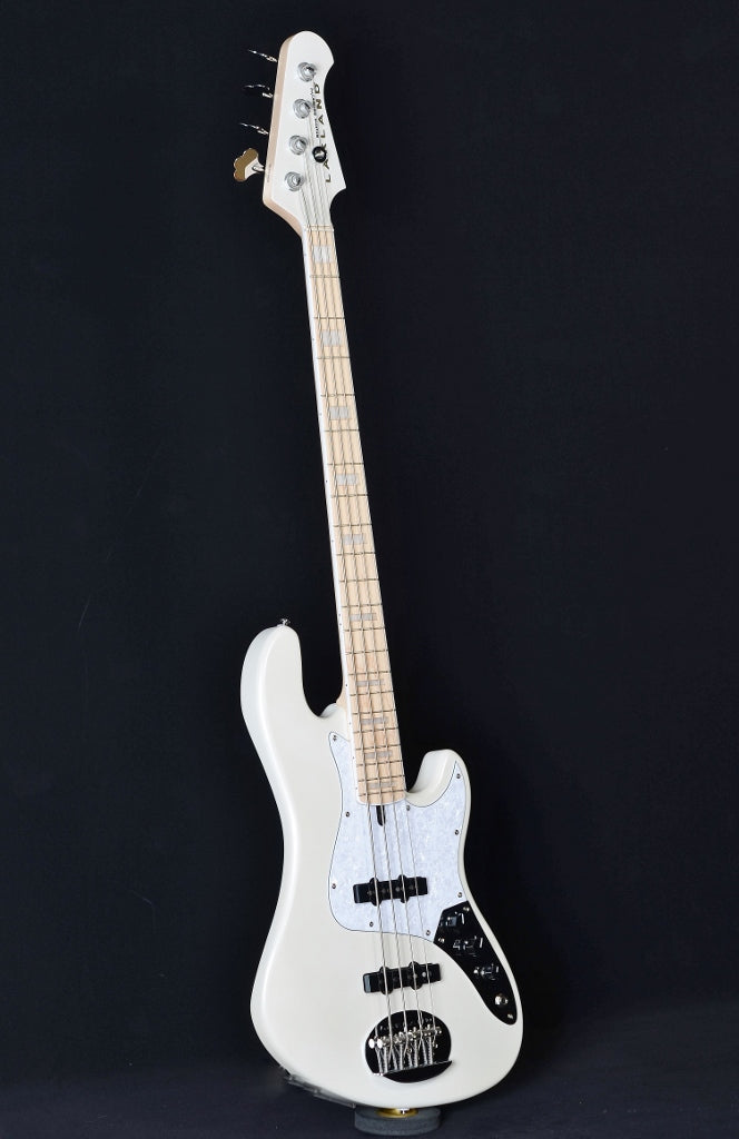 Lakland Skyline Darryl Jones Signature DJ-4 - White Pearl