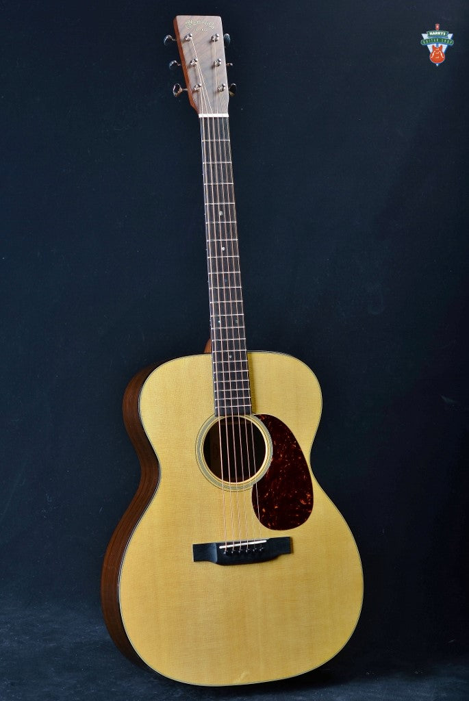 Martin Custom Shop 000-14 VTS Sitka Spruce/Wild Grain Indian Rosewood