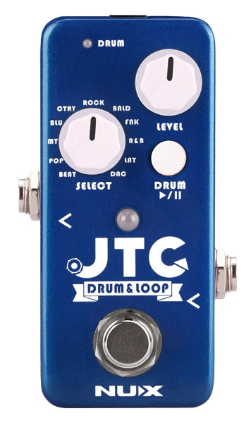 NuX JTC Mini Looper with Drum Rhyhms NDL-2