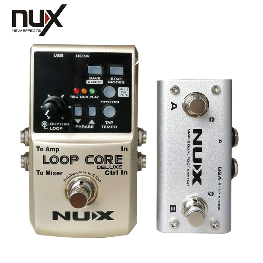 NUX Loop Core Deluxe Bundle