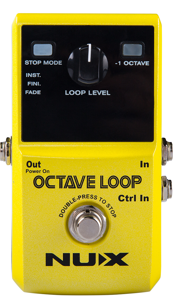 NuX Octave Loop Looper with Octave Effect