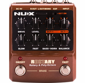 NUX Roctary Rotary Speaker Emulator and Polyphonic Octave