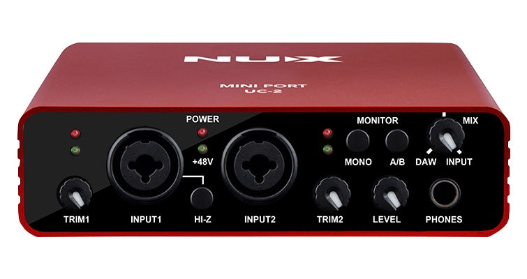NuX UC-2 Mini Port USB Audio Interface