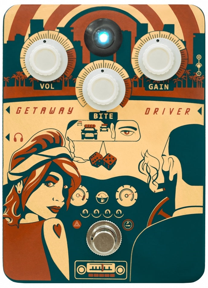 Orange Getaway Driver Class A Overdrive