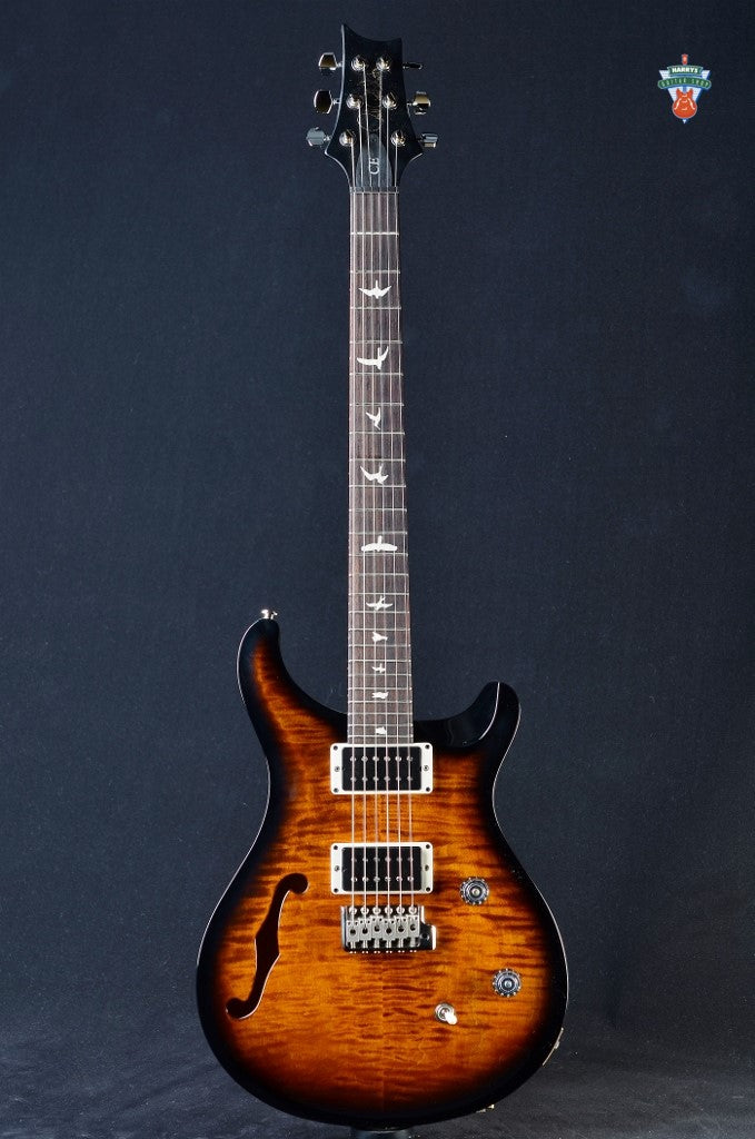 PRS CE 24 Semi-Hollow - Amber Smokewrap Burst