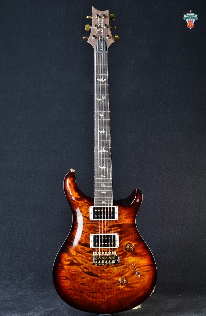 "PRS Custom 24 ""10"" Top Quilt - Black Gold Wrap"
