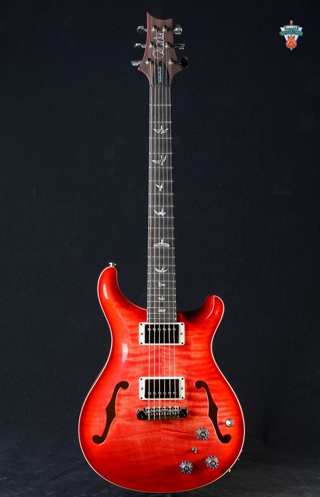 PRS Hollowbody II Piezo - Blood Orange Burst