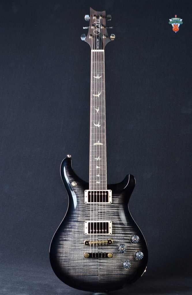 "PRS McCarty 594 ""10"" Top - Gray Black Smokewrap Burst"