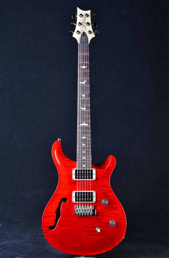 PRS CE 24 Semi-Hollow - Scarlet Red