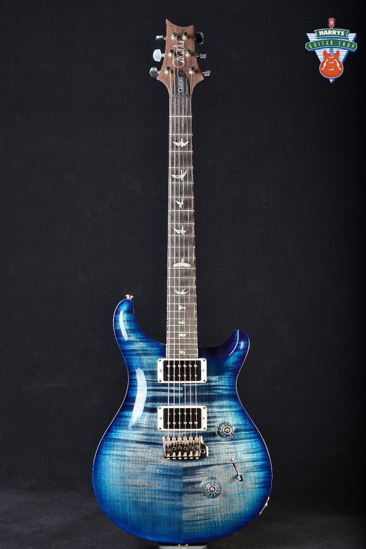 PRS Custom 24 - Faded Whale Blue Wrap Burst