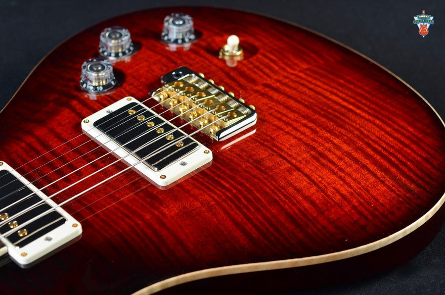 "PRS DGT ""10"" Top - Fire Red Burst"