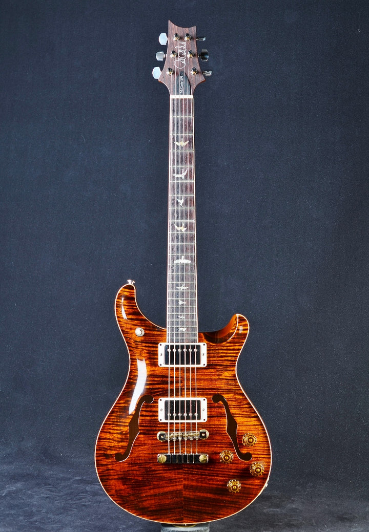 "PRS McCarty 594 Hollowbody II ""10"" Top & Back - Orange Tiger"