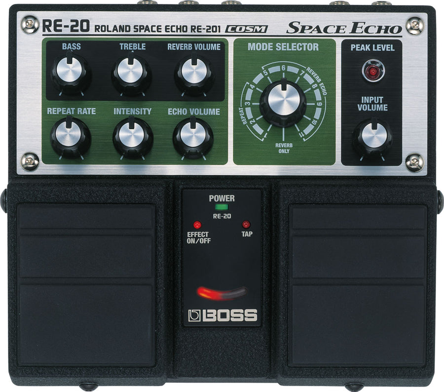 Boss RE-20 Roland Space Echo Pedal
