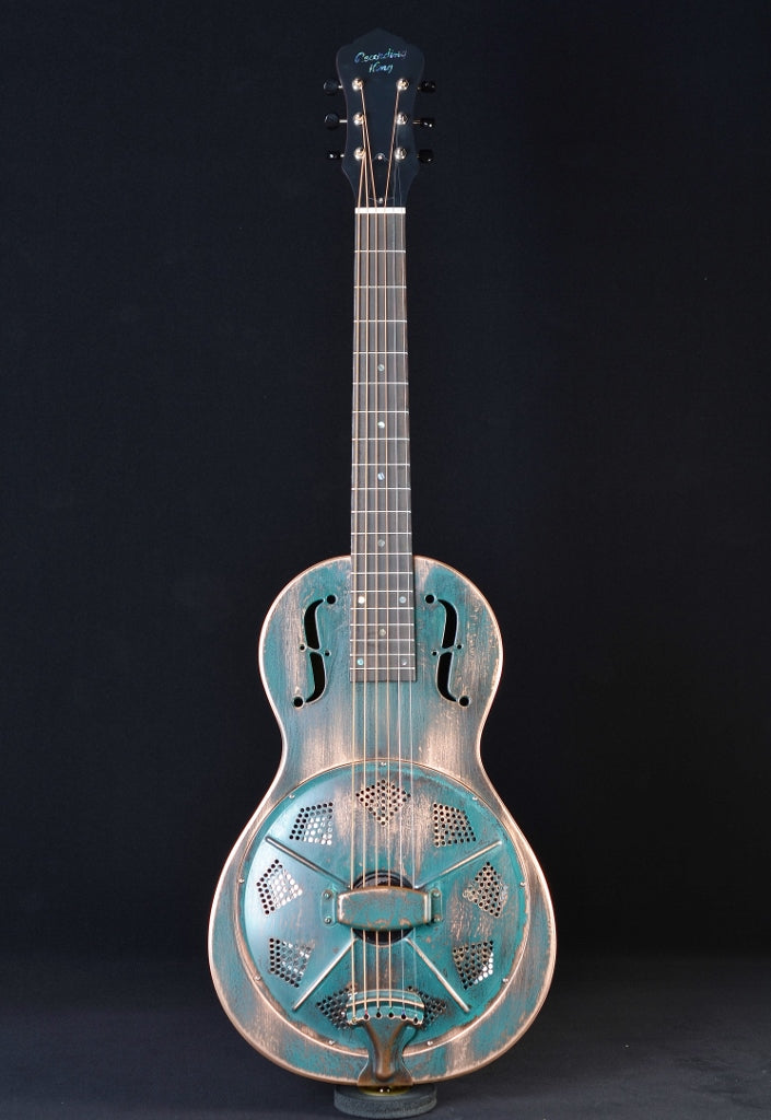 Recording King RM-993-VG Style Parlor Swamp Dog Resonator