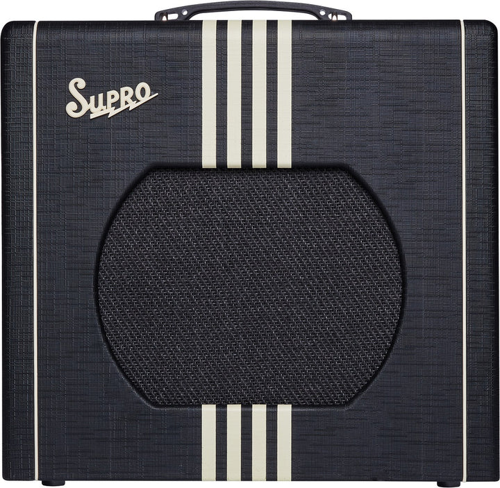 Supro Delta King 12 - Black/Cream