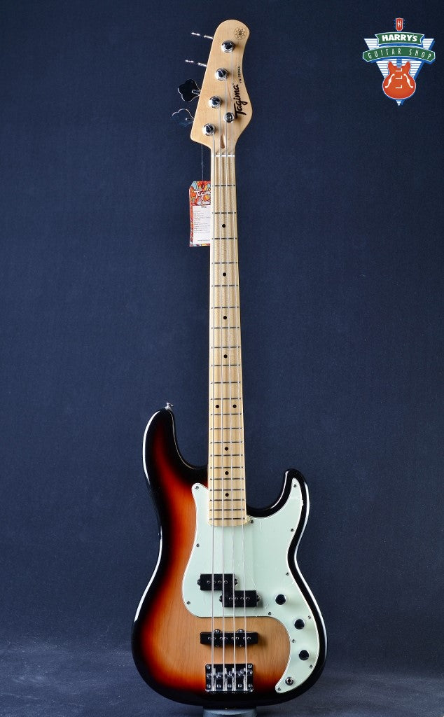 Tagima TW-65 P-J Bass - Sunburst/Mint Green