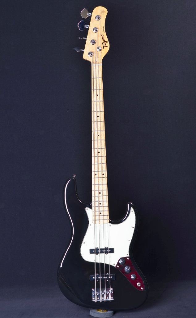 Tagima TW-73 Jazz Bass - Black/Mint Green