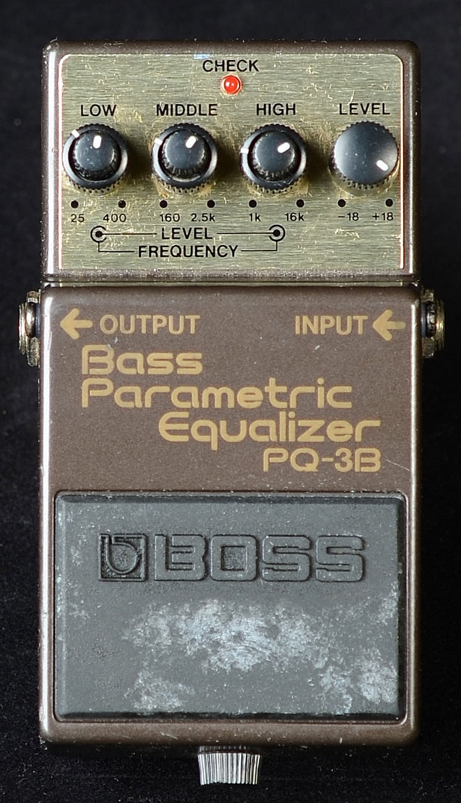 Boss PQ-3B Bass Parametric Equalizer - Used