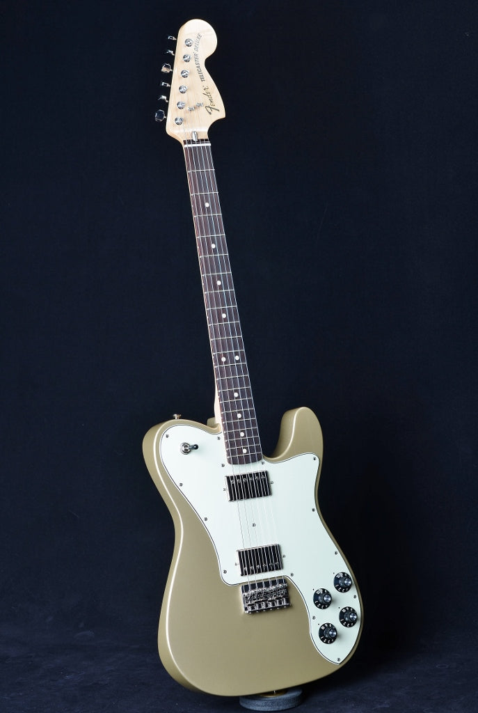Fender 2015 Chris Shiflett Telecaster Deluxe Shoreline Gold - Used