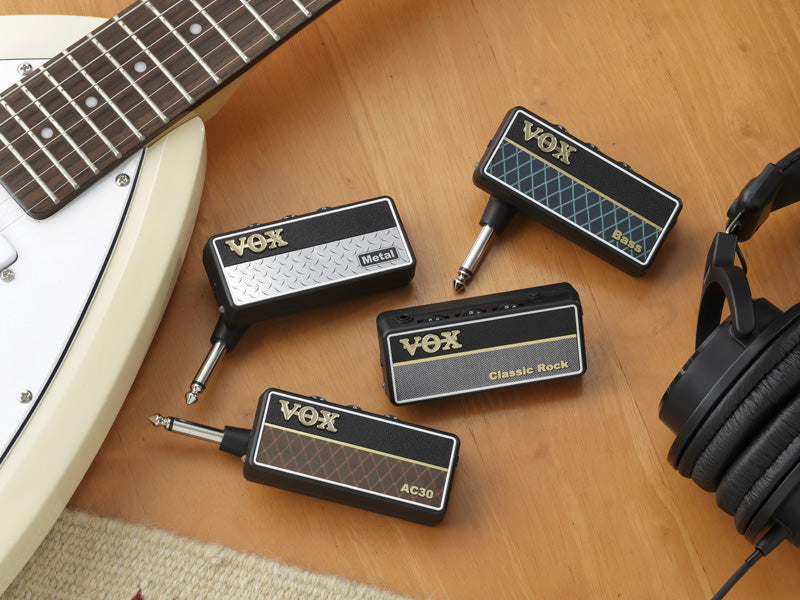 Vox amPlug 2 Headphone Amp - Metal
