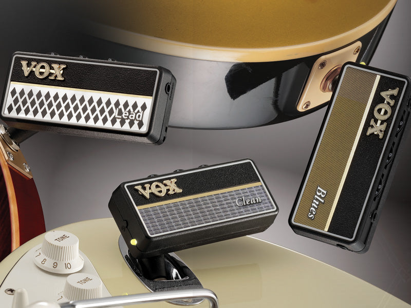 Vox amPlug 2 Headphone Amp - Lead