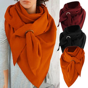 Ladies Solid Winter Scarf
