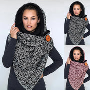 Classic Houndstooth Windproof Scarf
