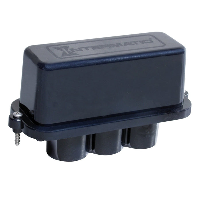 Intermatic PJB2175 Junction Box, 2-Light, Black