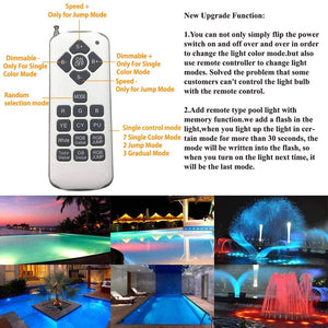 Color Changing Swimming Pool Lights Bulb LED