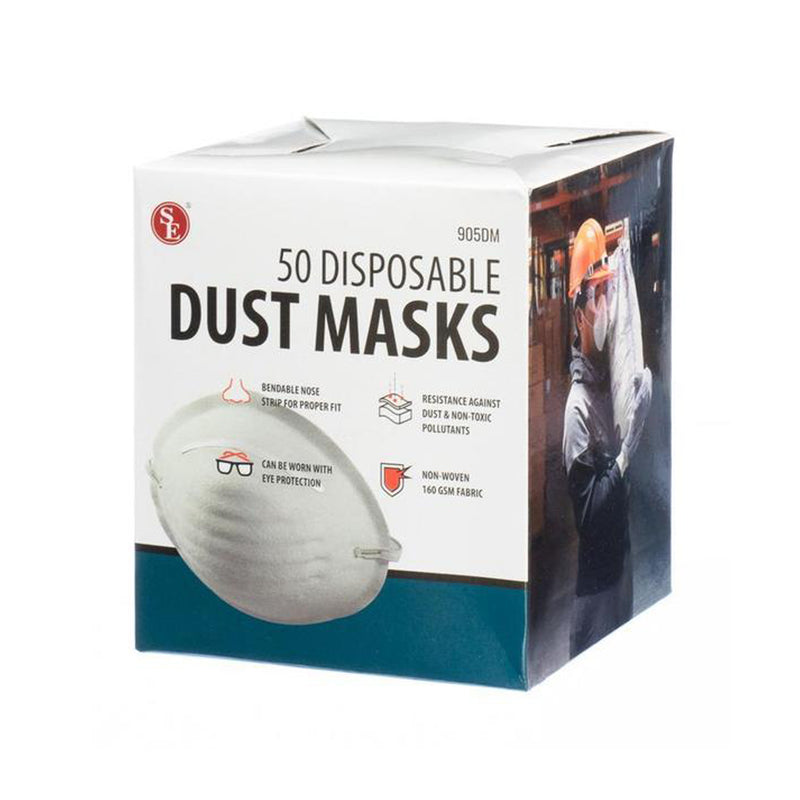 SE 905DM 50-Piece Dust Mask Set in A Box