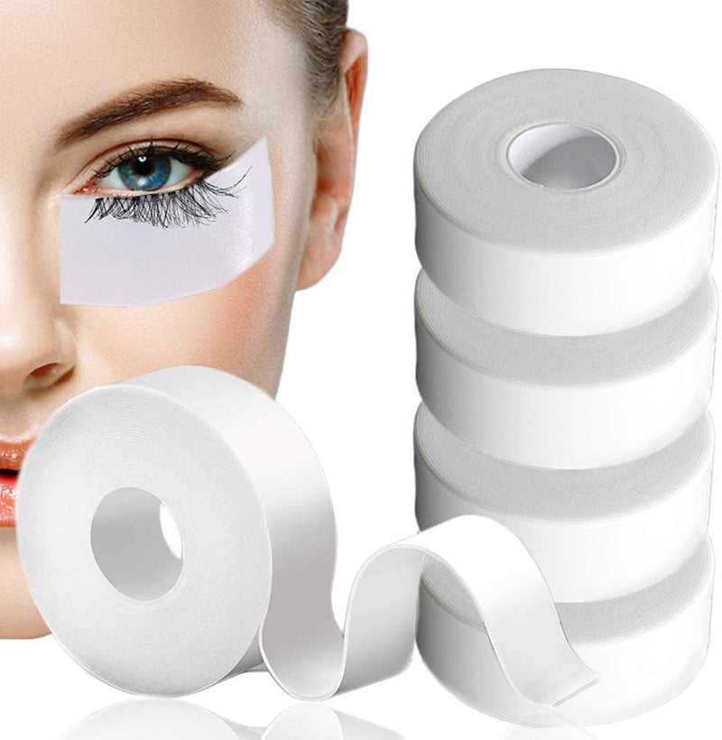 Lash Tape Eyelash Extension - Medical Elastic Foam Tape Lash Extension Lash Pads Under Eye Patches Lint Free Hypoallergenic No Latex