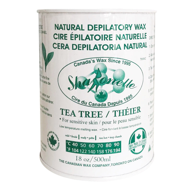【Tea Tree】Sharonelle Natural Depilatory Canned Wax 500ml