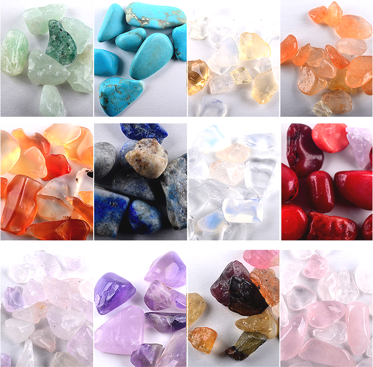 【BUY 1 GET 1 FREE!】12 Color Mini Stone Decorations Round Nail Art Set