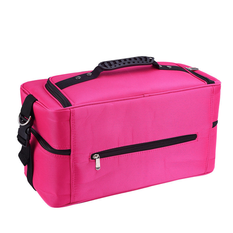 Nail Tools Storage Pack Makeup Case Cosmetic Bag Portable Travel Kit with Hanging