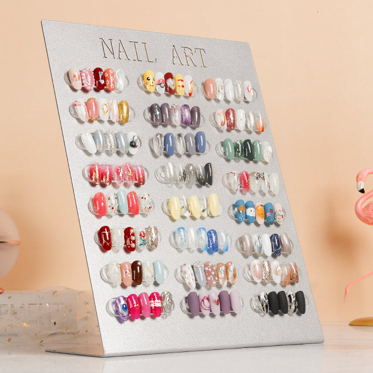 Nail Art Display Magnetic Stand Showcase