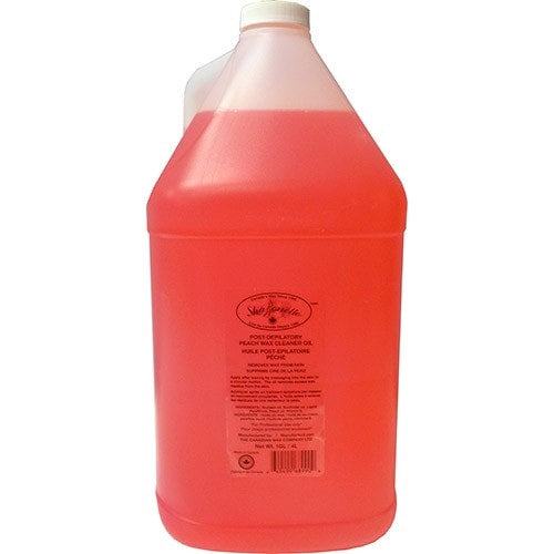 Sharonelle Post-Depilatory Peach Wax Cleaner Oil Gallon