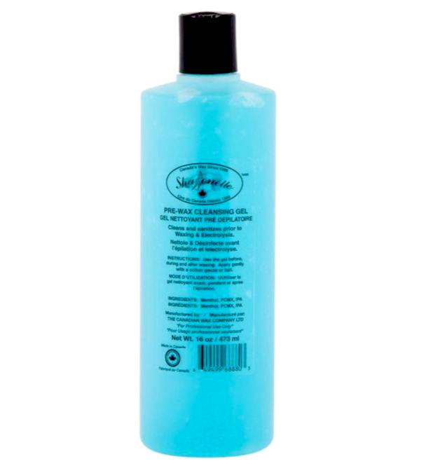 Sharonelle Pre-Wax Cleansing Gel 8oz