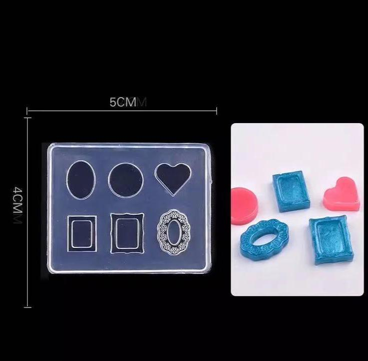 【BUY 1 GET 1 FREE!】3D Rectangle Silicone Mold for DIY Making Jewelry Nail Art Template Mold