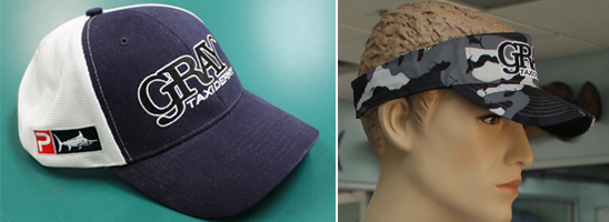 Gray Taxidermy CrewGear Headwear
