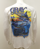 The Classic Gray Taxidermy Long Sleeve T-Shirt