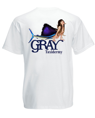 """Sailfish Mermaid"" T-Shirt"