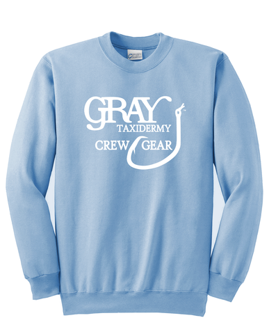 Gray Taxidermy Crew Gear Classic Sweatshirt