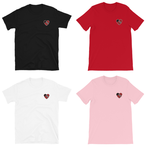 "Strictly Skateboarding T-Shirts: Embroidered ""OG"" + ""DRIP"" Designs Soft & Comfortable 100% Cotton Available in Black, Red, Pink & White Colors!"
