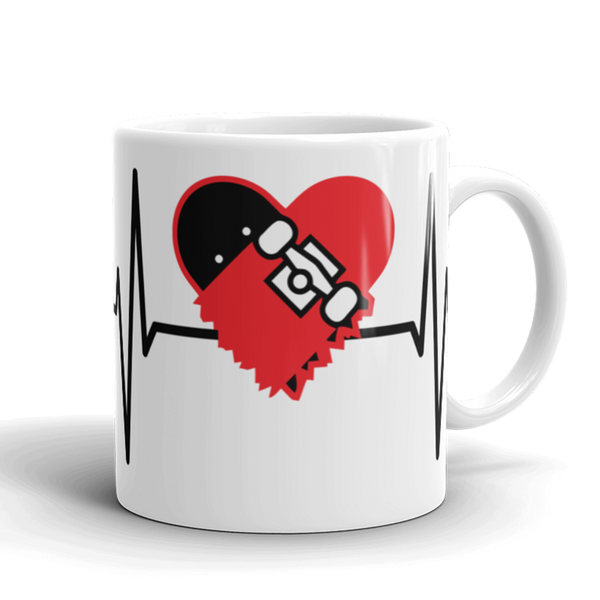 Strictly Skateboarding Mug: Perfect for your morning Coffee, afternoon Tea, or whatever hot beverage you enjoy!