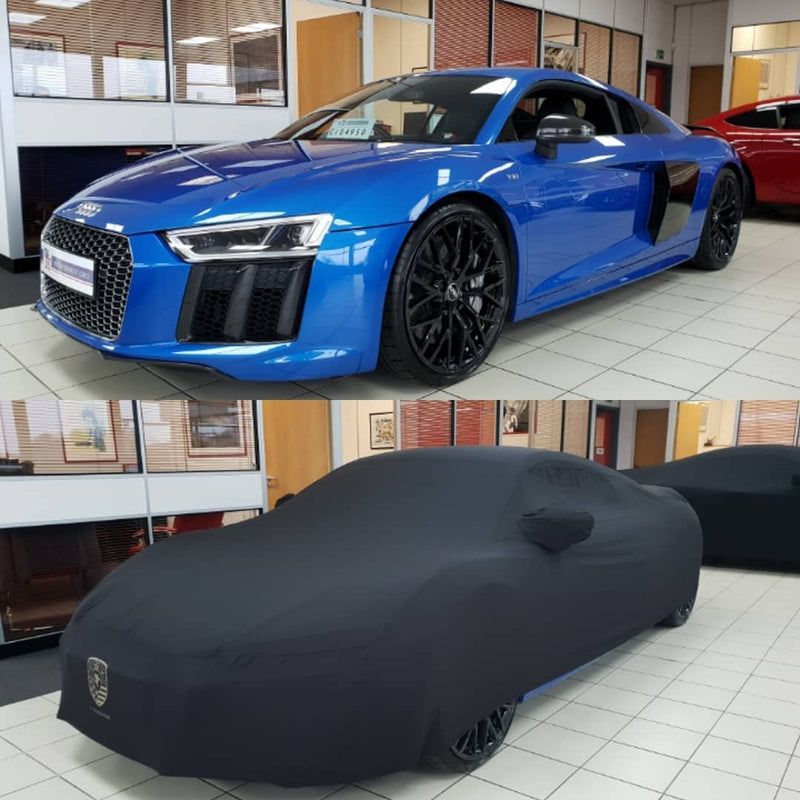 AirShroud Audi R8 V10 Plus tailored Indoor car cover